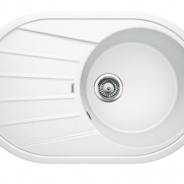 Plautuvė BLANCOTAMOS 45 S, 780x500 mm, balta spalva