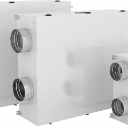Rekuperatorius Duplex 570 EC5.RD5.CF su Bypass