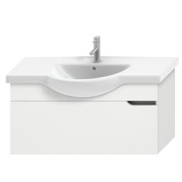 MIO NEW spintelė 105 cm baldiniam praustuvui, 1 stalčius, balta