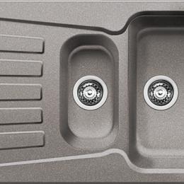 Plautuvė  BLANCONOVA 6 S,1000x500 mm, aliuminio metalinė spalva