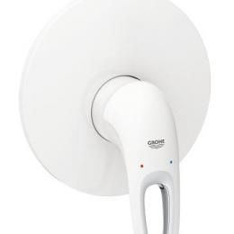 Potinkinio dušo maišytuvo Eurostyle virštinkinė dalis, balta