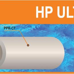 Lituojamas vamzdis PP-RCT ULTRA  40x4,5 (S 4), PN22