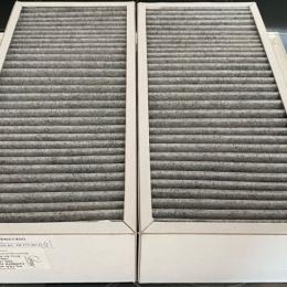 Akt. anglies filtras ENSY AHU 350 /400B F7: 165x370x94. Komplekte 2 vnt.